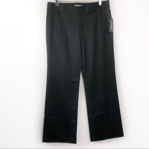 Banana Republic The Martin Fit Black Trouser Pants